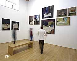 Musée de l'abbaye - salle permanente beaux-arts