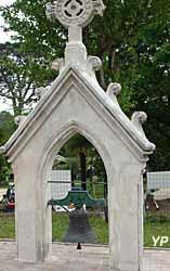 Temple protestant - clocheton