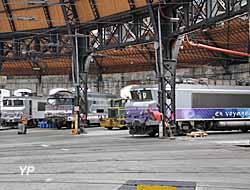 Rotonde ferroviaire - motrices SNCF