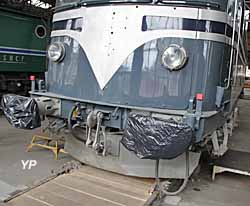 Rotonde ferroviaire - locomotive CC 6051