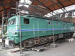 Rotonde ferroviaire - locomotive CC 7102