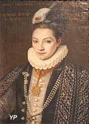 Musée des Beaux-Arts de Chambéry - Portrait de Charles Emmanuel I (Giovanni Caracca ou Carrachyo, 1580)