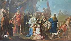 Musée des Beaux-Arts de Chambéry - la Famille de Darius au pieds d'Alexandre (Claudio Francesco Beaumont, vers 1750)
