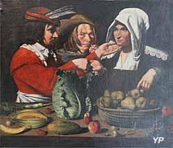 Musée des Beaux-Arts de Chambéry - La Marchande de Légumes (Paul Latarte)