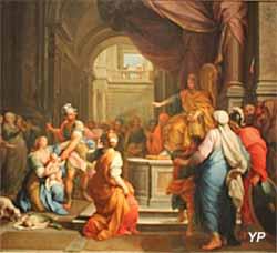 Exposition temporaire Rois & Mécènes - Le Jugement de Salomon (Agostino Masucci, 1738)