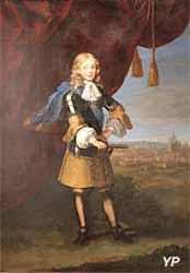 Exposition temporaire Rois & Mécènes - Portrait de Victor-Amédée II de Savoie (Paul Mignard, 1675)
