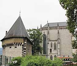 Château des Ducs de Savoie - tour Trésorerie et Sainte Chapelle