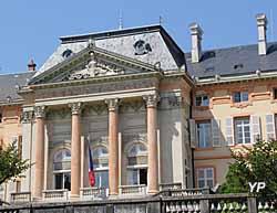 Château des Ducs de Savoie - façade sud du pavillon central