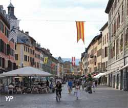 Visite de Chambéry - place Saint Léger