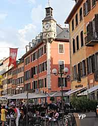 Visite de Chambéry - place Saint-Léger