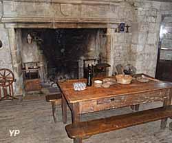 Moulin à eau de Cougnaguet - habitation du meunier