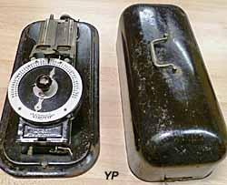 Musée du Scribe - machine Virotyp et son couvercle