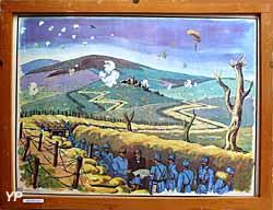 Musée du Scribe - carte de la guerre 14-18