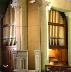 Aix-les-Bains - orgue de l'église anglicane Saint Swithun