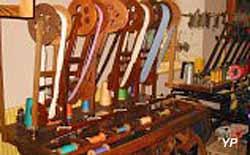 Musée de Tissage - dévidoir pour la soie