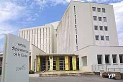 Archives départementales de la Corrèze (J.-M. Nicita, Arc. Dép. Corrèze)