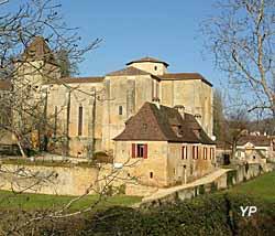 Ancienne abbatiale église Saint-Martial (Mairie de Paunat)