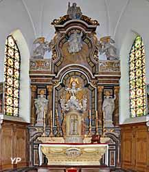 Église Saint-Médard - choeur