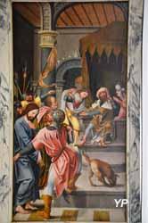 Église Saint-Médard - Jésus devant Ponce Pilate