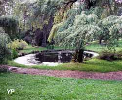 Château-musée Lafayette - petit étang