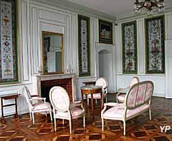Château-musée Lafayette - salon de Mme Lafayette