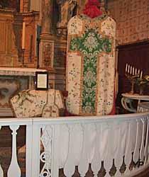Église Saint-Lubin - chasuble
