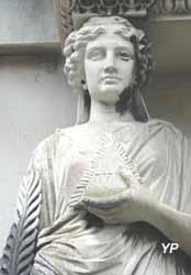 Cimetière ancien - La Renommée (Aimé Irvoy)