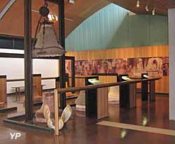 Musée de la Cloche et de la Sonnaille - salle de fabrication des cloches