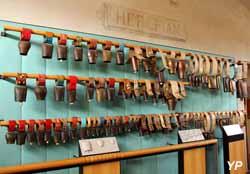 Musée de la Cloche et de la Sonnaille - Mur des Sonnailles