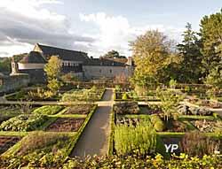 Abbaye de Daoulas - jardin des simples