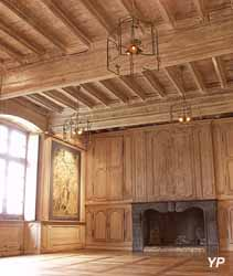 Manoir de Kernault - salle seigneuriale