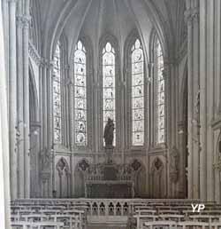 Couvent des Carmélites - chapelle du carmel, rue du Hameau