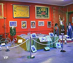 Musée du Cirque - salle Aériens, équilibristes