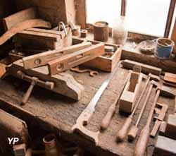 Scierie mécanique Morel - atelier