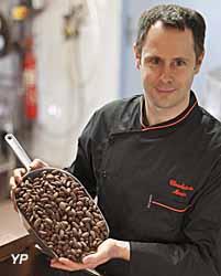 Chocolaterie A. Morin - portrait Franck Morin