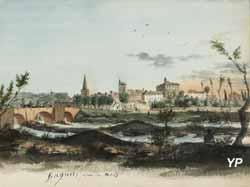 Musée Léon Alègre - Bagnols-sur-Cèze vue du Nord (Département du Gard)