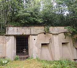 Fort de Roppe - entrée du fort