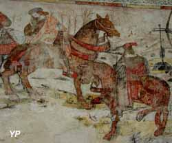 Prieuré de Carennac - Dit des trois morts et des trois vifs (Pays d'art et d'histoire de la vallée de la Dordogne lotoise)