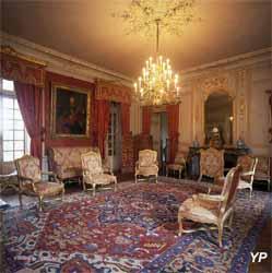 Château de Parentignat - salon Rouge