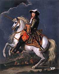 Château de Parentignat - Louis XIV à cheval (René-Antoine Houasse)