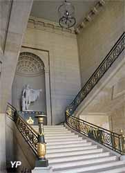 Château de Compiègne - escalier d'Apollon