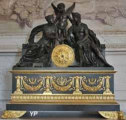 Salle à manger de l'Empereur - mariage de Napoléon et de Marie-Louise (Pierre-Philippe Thomire, d'après Pierre-Paul Prud'hon)