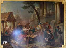 Galerie Natoire - Sancho et la marchande de Noisettes (Charles-Joseph Natoire)