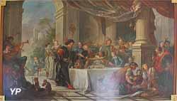Galerie Natoire - Le repas de Sancho dans l'île de Barataria (Charles-Joseph Natoire)