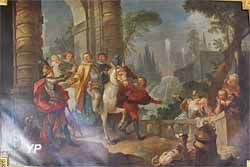 Galerie Natoire - Départ de Sancho pour l'île de Barataria (Charles-Joseph Natoire)