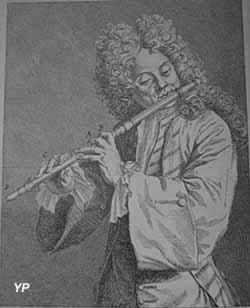 Musée des instruments à vent - Jacques Hotteterre, musicien du roi