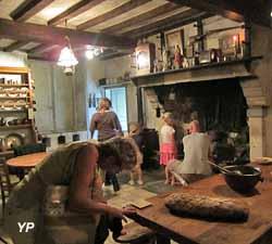 Ferme-musée du Cotentin - la salle commune à la veillé