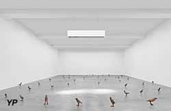 Carré d'Art - Primitive, 2011-2012 & Thank you Silence, 2005 (Ugo Rondinone) (Carré d'Art / Ugo Rondinone)