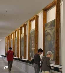 Musée de la Grande Chartreuse - galerie des Cartes