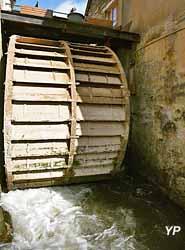 Moulin de Maupertuis - roue extérieure